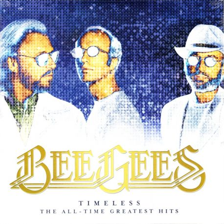 BEE GEES ‎- TIMELESS: THE ALL-TIME GREATEST HITS (2 LP) - WYDANIE AMERYKAŃSKIE