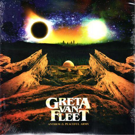 GRETA VAN FLEET – ANTHEM OF THE PEACEFUL ARMY (1 LP) - WYDANIE AMERYKAŃSKIE