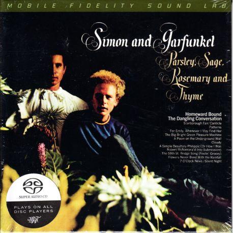 SIMON & GARFUNKEL - PARSLEY, SAGE, ROSEMARY AND THYME (1 SACD) - LIMITED NUMBERED MFSL EDITION - WYDANIE AMERYKAŃSKIE