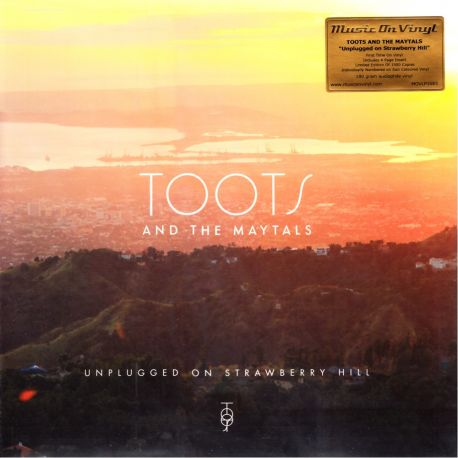 TOOTS AND THE MAYTALS - UNPLUGGED ON STRAWBERRY HILL (1 LP) - MOV LIMITED EDITION 180 GRAM SUN COLOURED VINYL PRESSING