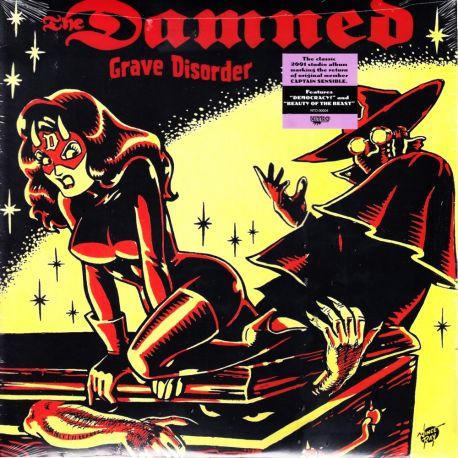 DAMNED, THE - GRAVE DISORDER (1 LP) - WYDANIE AMERYKAŃSKIE