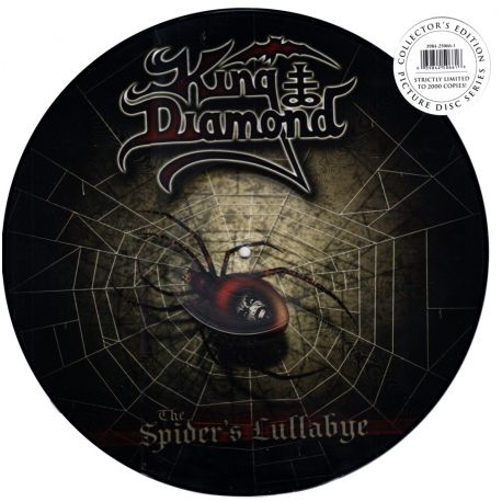 KING DIAMOND - THE SPIDER'S LULLABYE (1 LP) - LIMITED EDITION PICTURE DISC