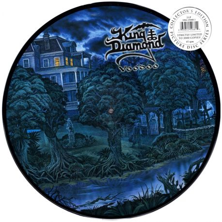 KING DIAMOND - VOODOO (2 LP) - 45 RPM - LIMITED EDITION PICTURE DISC