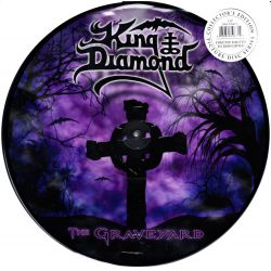 KING DIAMOND - THE GRAVEYARD (2 LP) - LIMITED EDITION PICTURE DISC