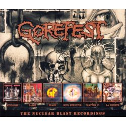 GOREFEST - THE NUCLEAR BLAST RECORDINGS (6 CD)