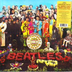 BEATLES, THE - SGT. PEPPER'S LONELY HEARTS CLUB BAND (1 LP) - ANNIVERSARY EDITION - 180 GRAM PRESSING - WYDANIE AMERYKAŃSKIE