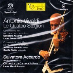 VIVALDI, ANTONIO - LE QUATTRO STAGIONI - SALVATORE ACCARDO, ORCHESTRA DA CAMERA ITALIANA (1 SACD)