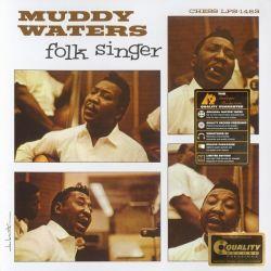 WATERS, MUDDY - FOLK SINGER (1 LP) - AP EDITION - 200 GRAM PRESSING - WYDANIE AMERYKAŃSKIE
