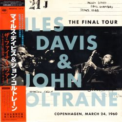 DAVIS, MILES & JOHN COLTRANE - THE FINAL TOUR: COPENHAGEN (1 LP) - MONO EDITION - 180 GRAM PRESSING - WYDANIE JAPOŃSKIE