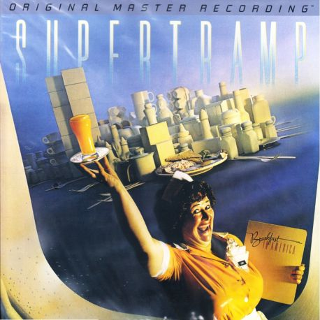 SUPERTRAMP - BREAKFAST IN AMERICA (1 LP) - MFSL LIMITED NUMBERED EDITION - 180 GRAM PRESSING - WYDANIE AMERYKAŃSKIE