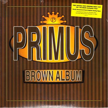 PRIMUS - BROWN ALBUM (2 LP) - 180 GRAM PRESSING - WYDANIE AMERYKAŃSKIE