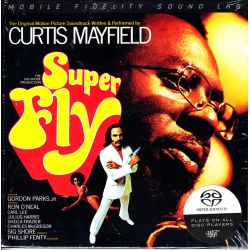 MAYFIELD, CURTIS - SUPERFLY (SUPER FLY) - SOUNDTRACK (1 SACD) - LIMITED NUMBERED MFSL EDITION - WYDANIE AMERYKAŃSKIE
