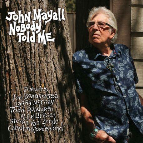MAYALL, JOHN - NOBODY TOLD ME (1 LP)