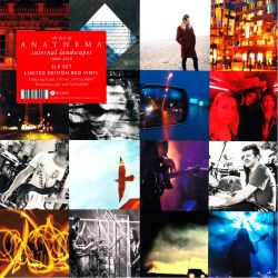 ANATHEMA - INTERNAL LANDSCAPES 2008-2018 (THE BEST OF) (2 LP) - LIMITED EDITION RED VINYL