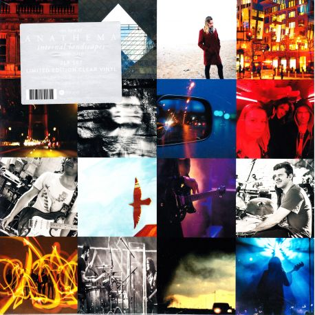 ANATHEMA - INTERNAL LANDSCAPES 2008-2018 (THE BEST OF) (2 LP) - LIMITED EDITION CLEAR VINYL