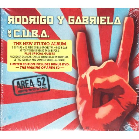 RODRIGO Y GABRIELA AND C.U.B.A. - AREA 52 (CD + DVD)