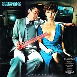 SCORPIONS - LOVEDRIVE (1 LP + 1 CD) - 50th ANNIVERSARY DELUXE EDITION - 180 GRAM PRESSING