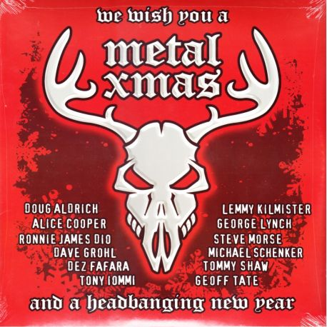 WE WISH YOU A METAL XMAS AND A HEADBANGING NEW YEAR (2 LP) - DELUXE EDITION - WYDANIE AMERYKAŃSKIE