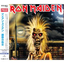 IRON MAIDEN - IRON MAIDEN (1 CD) - WYDANIE JAPOŃSKIE