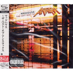 ANTHRAX - MADHOUSE: THE VERY BEST OF ANTHRAX (1 SHM-CD) - WYDANIE JAPOŃSKIE