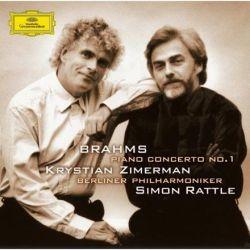 Brahms - Zimerman, Berliner Philharmoniker, Simon Rattle: Piano Concerto No. 1 (180g Vinyl LP)