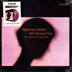 EVANS, BILL TRIO - WALTZ FOR DEBBY (1 LP) - 180 GRAM PRESSING - LIMITED COLORED EDITION