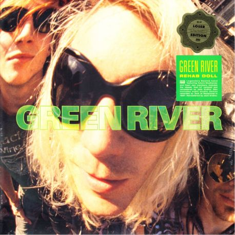GREEN RIVER - REHAB DOLL (2 LP) - LIMITED LIGHT GREEN VINYL