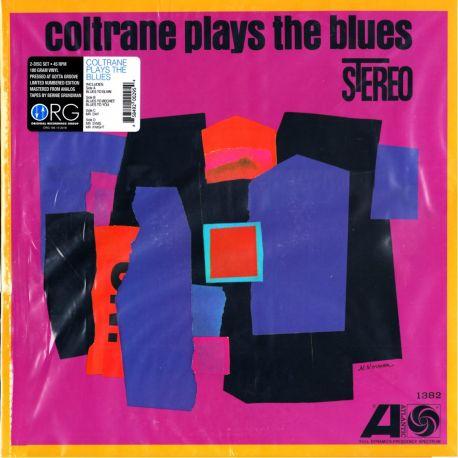 COLTRANE, JOHN - COLTRANE PLAYS THE BLUES (2 LP) - LIMITED NUMBERED 45RPM ORG EDITION 180 GRAM PRESSING - WYDANIE AMERYKAŃSKIE