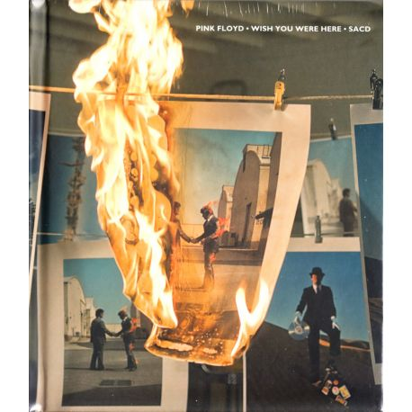 PINK FLOYD - WISH YOU WERE HERE (1 SACD) - LIMITED NUMBERED ANALOGUE PRODUCTIONS EDITION - WYDANIE AMERYKAŃSKIE