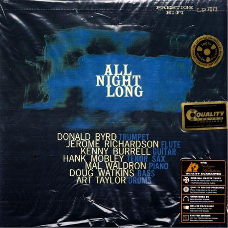 PRESTIGE ALL STARS, THE - ALL NIGHT LONG (1 LP) ANALOGUE PRODUCTIONS EDITION - 200 GRAM PRESSING - WYDANIE AMERYKAŃSKIE