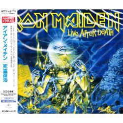 IRON MAIDEN - LIVE AFTER DEATH (2 CD) - WYDANIE JAPOŃSKIE