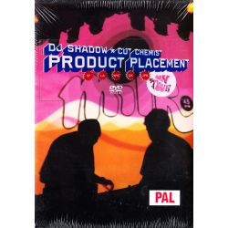 DJ SHADOW & CUT CHEMIST - PRODUCT PLACEMENT ON TOUR (1 DVD + 1 CD)