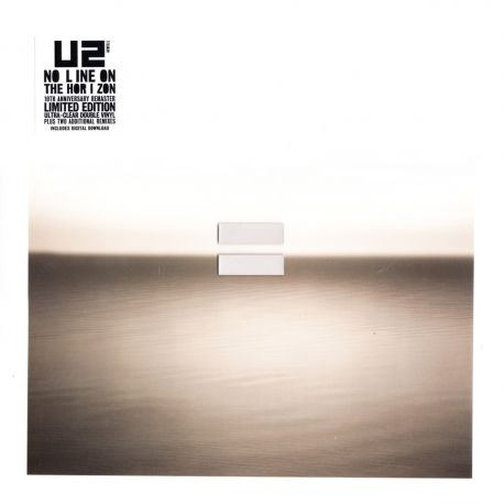 U2 - NO LINE ON THE HORIZON (2 LP) - LIMITED TRANSPARENT 180 GRAM VINYL PRESSING