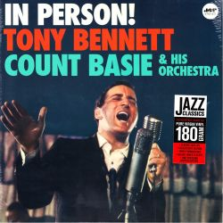 BENNETT, TONY WITH COUNT BASIE AND HIS ORCHESTRA - IN PERSON! (1 LP) - JAZZ WAX EDITION - 180 GRAM PRESSING