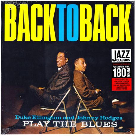 ELLINGTON, DUKE & JOHNNY HODGES - BACK TO BACK (1 LP) - JAZZ WAX EDITION - 180 GRAM PRESSING