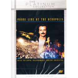 YANNI - LIVE AT THE ACROPOLIS WITH THE ROYAL PHILHARMONIC CONCERT ORCHESTRA (1 DVD)
