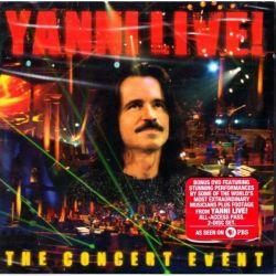 YANNI - LIVE! THE CONCERT EVENT (1 CD + 1 DVD) - WYDANIE AMERYKAŃSKIE