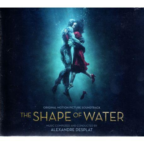 SHAPE OF WATER, THE [KSZTAŁT WODY] - ALEXANDRE DESPLAT (1 CD) - WYDANIE AMERYKAŃSKIE