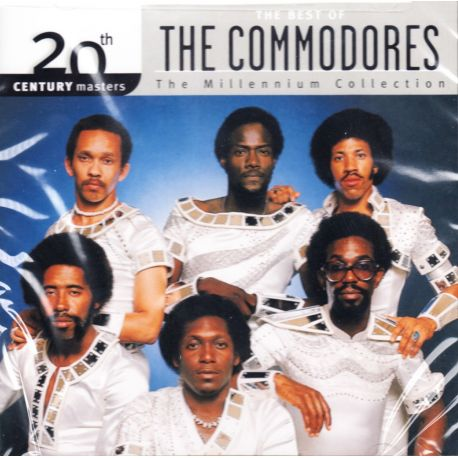 COMMODORES, THE - THE BEST OF - THE MILLENNIUM COLLECTION (1 CD) - WYDANIE AMERYKAŃSKIE
