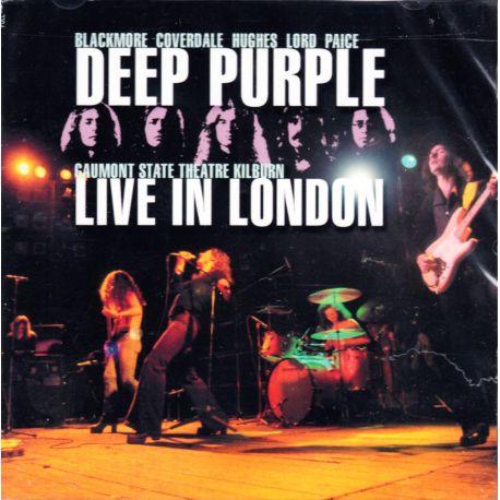 DEEP PURPLE - LIVE IN LONDON 1974 (2 CD) - WYDANIE AMERYKAŃSKIE