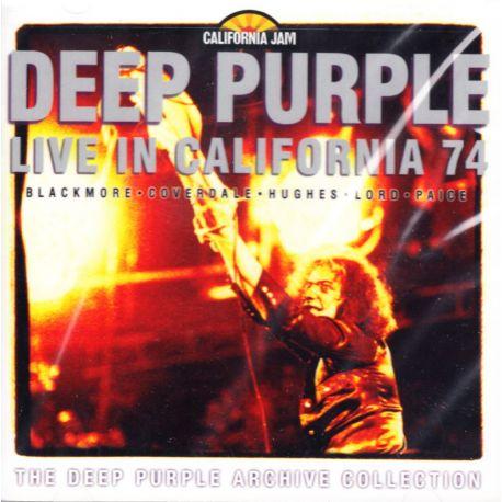 DEEP PURPLE - LIVE AT THE CALIFORNIA JAM 1974 (1 CD) - WYDANIE AMERYKAŃSKIE