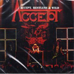 ACCEPT - RESTLESS & WILD (1 CD) - WYDANIE AMERYKAŃSKIE