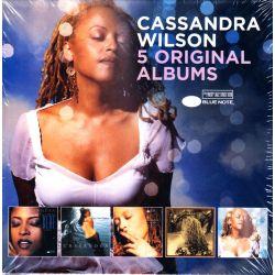 WILSON, CASSANDRA - 5 ORIGINAL ALBUMS (5 CD)