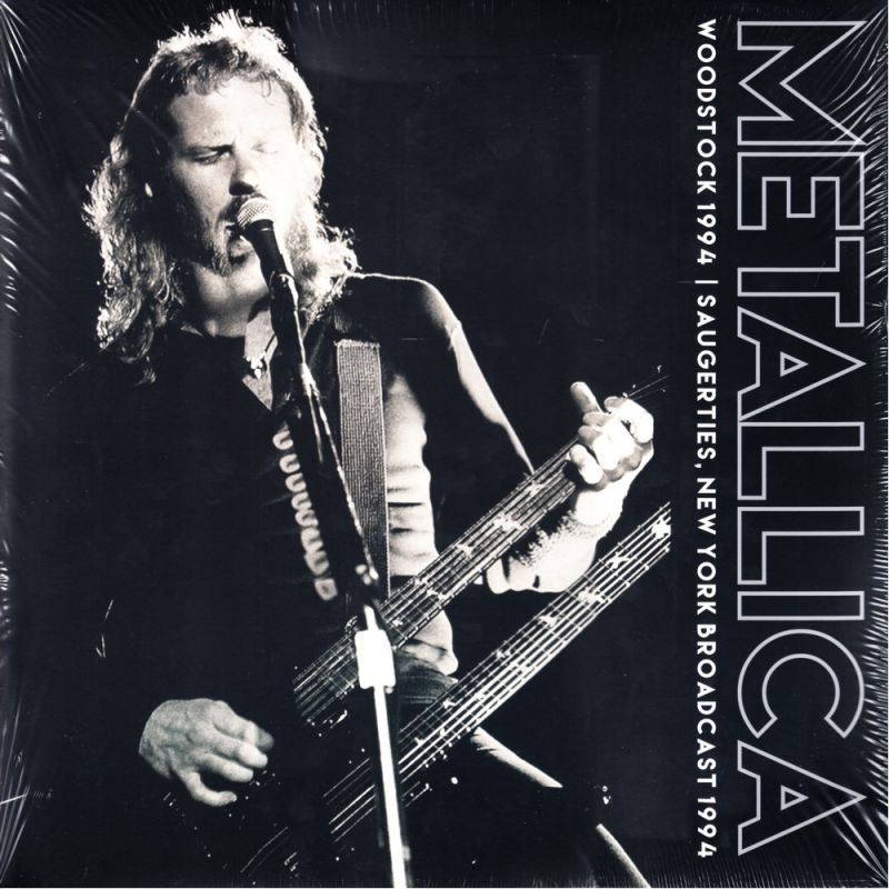 Metallica Woodstock 1994 2 Lp Clear Vinyl Pressing