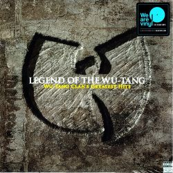 WU-TANG CLAN - LEGEND OF WU-TANG : GREATEST HITS (2LP) - MOV EDITION - LIMITED NUMBERED TRANSPARENT VINYL 180 GRAM VINYL PRESSIN