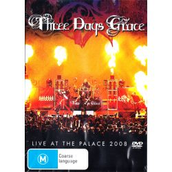 THREE DAYS GRACE - LIVE AT THE PALACE 2008 (1 DVD)