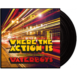 WATERBOYS - WHERE THE ACTION IS (1 LP)