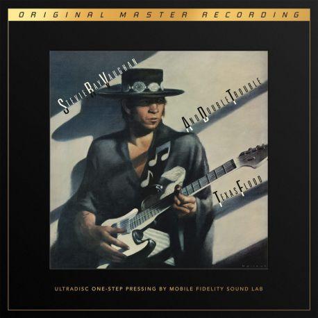 VAUGHAN, STEVIE RAY - TEXAS FLOOD (2 LP) - MFSL LIMITED NUMBERED 45 RPM EDITION - 180 GRAM PRESSING - WYDANIE AMERYKAŃSKIE