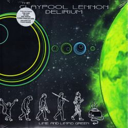 "CLAYPOOL LENNON DELIRIUM, THE - LIME AND LIMPID GREEN (10"" EP + MP3 DOWNLOAD) - GREEN SPLATTER VINYL"