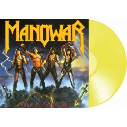 MANOWAR - FIGHTING THE WORLD (1 LP) - TRANSPARENT YELLOW VINYL